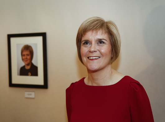 Nicola Sturgeon Is In Vogue And Everyone Has An Opinion About It