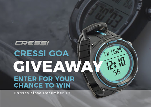 Win the EPIC New Cressi Goa Dive Computer