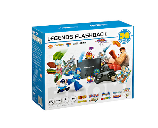 The Official Game List for the AtGames Legends Flashback Console (2018) - Armchair Arcade