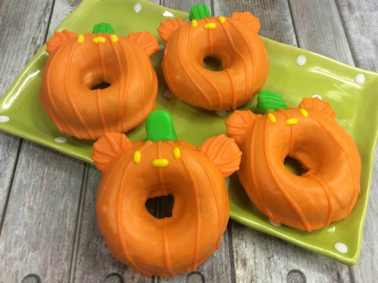 Mickey Pumpkin Donut Recipe | Clementine County