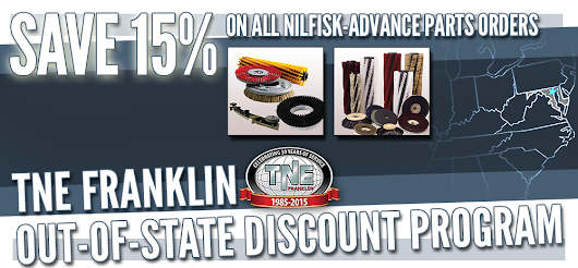 TNE Franklin Out of State Discount Program - Save 15% on All Parts Orders!