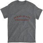 Official NCAA Texas State University Bobcats - RYLSWT01, G.A.5000, DRK_HT