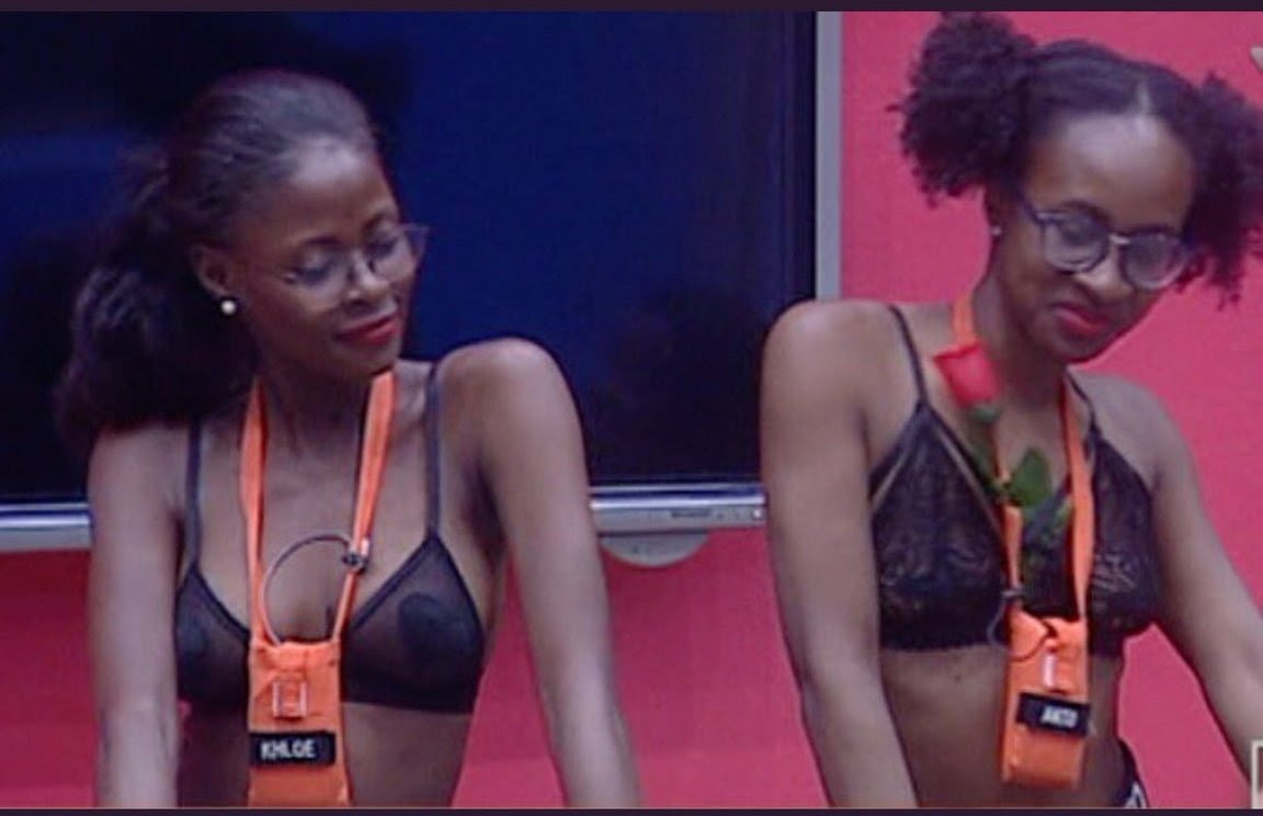 Image result for BBNaija: Anto and Khloe return to the House