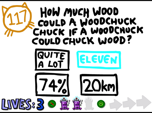 Question 117 (The Impossible Quiz 2) - The Impossible Quiz ...