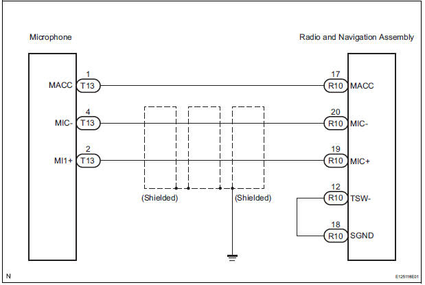 Wiring Diagram For Microphone