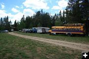 Bus Village. Photo by Dawn Ballou, Pinedale Online.