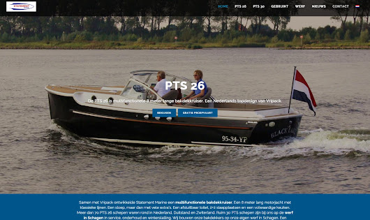 Nieuwe website Statement Marine - Webdesign Alkmaar | 072DESIGN