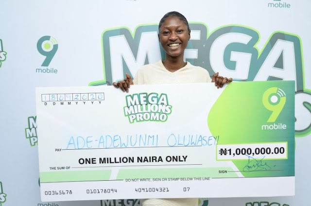 """I Will Gift My N1million Win To My Only Parent, My Mother"" – 9mobile Mega Millions N1m Winner"