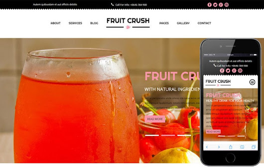 Fruit Crush a Hotel Category Flat Bootstrap Responsive Web Template by w3layouts
