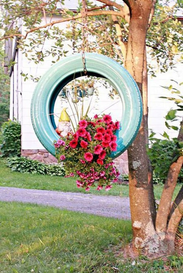 Smart Ways to Use Old Tires (29)