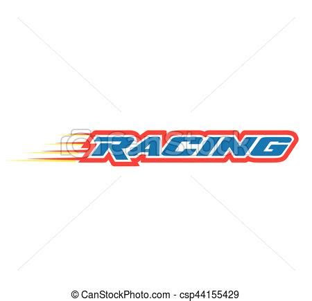 racing logo design eps  supported