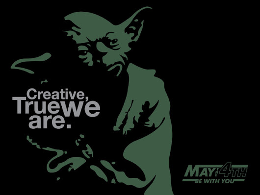 Happy Star Wars Day…May the 4th be with you!