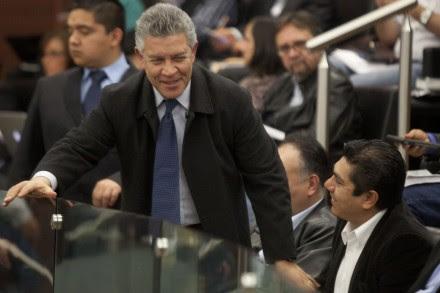 Penchyna durante la discusión de la reforma energética. Foto: Octavio Gómez