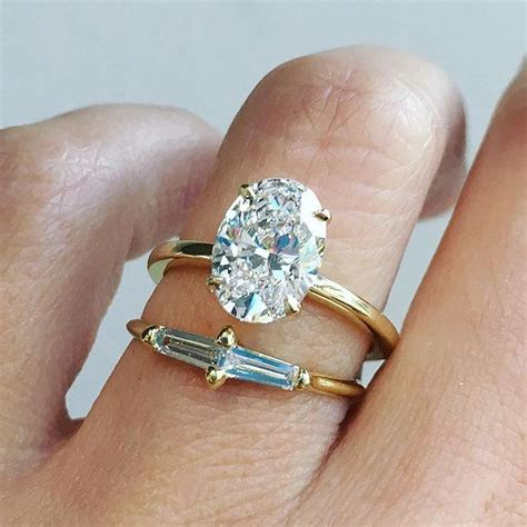 Best 25  Oval diamond rings ideas that you will like on