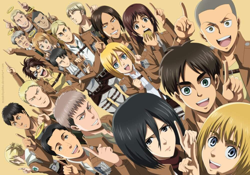 Attack On Titan Characters As The Seven Deadly Sins Attack On Titan Amino