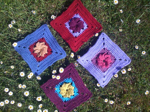 Lulabelle 1967 Thank you so much your Squares arrived this morning. What beautiful Flower Squares for SIBOL! Thank you!