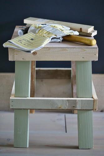 work in progress by wood & wool stool