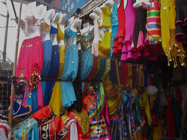 Pseudo-ethnic costumes, Lotus Market, Chengdu