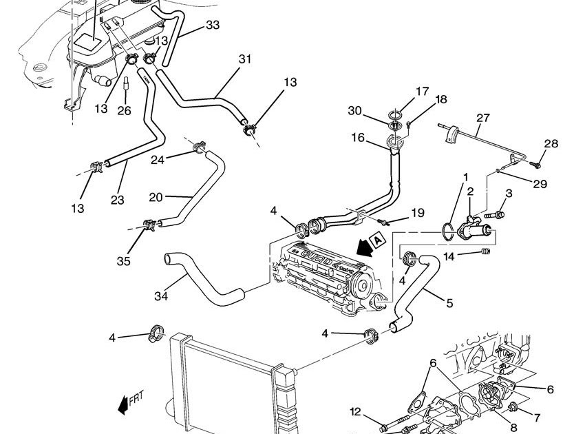 Pontiac Grand Prix Exhaust System Diagram