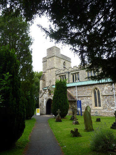 St Dunstan's Church at Monks Risborough