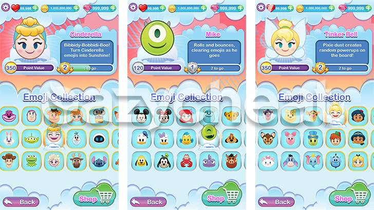 Disney Emoji Blitz with Pixar Unlimited Gems