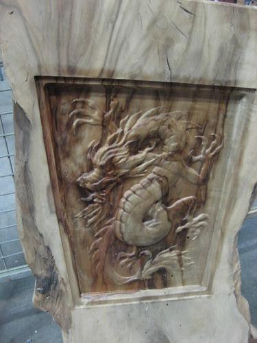 Week 30 - wood carved dragon