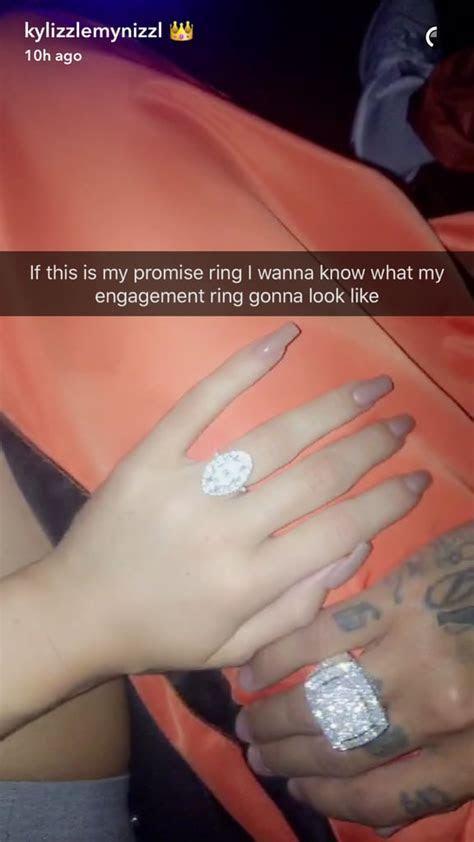 Kylie Jenner's Promise Ring   POPSUGAR Fashion Photo 2