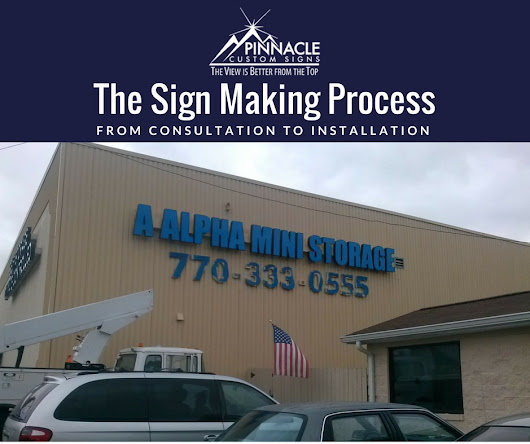 From consultation to installation, we walk you through the sign process.