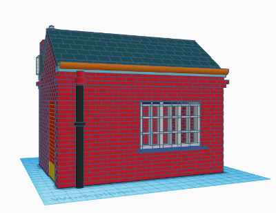 Creating a brick wall in TinkerCAD - Electronic and sofware projects from Penguintutor.com