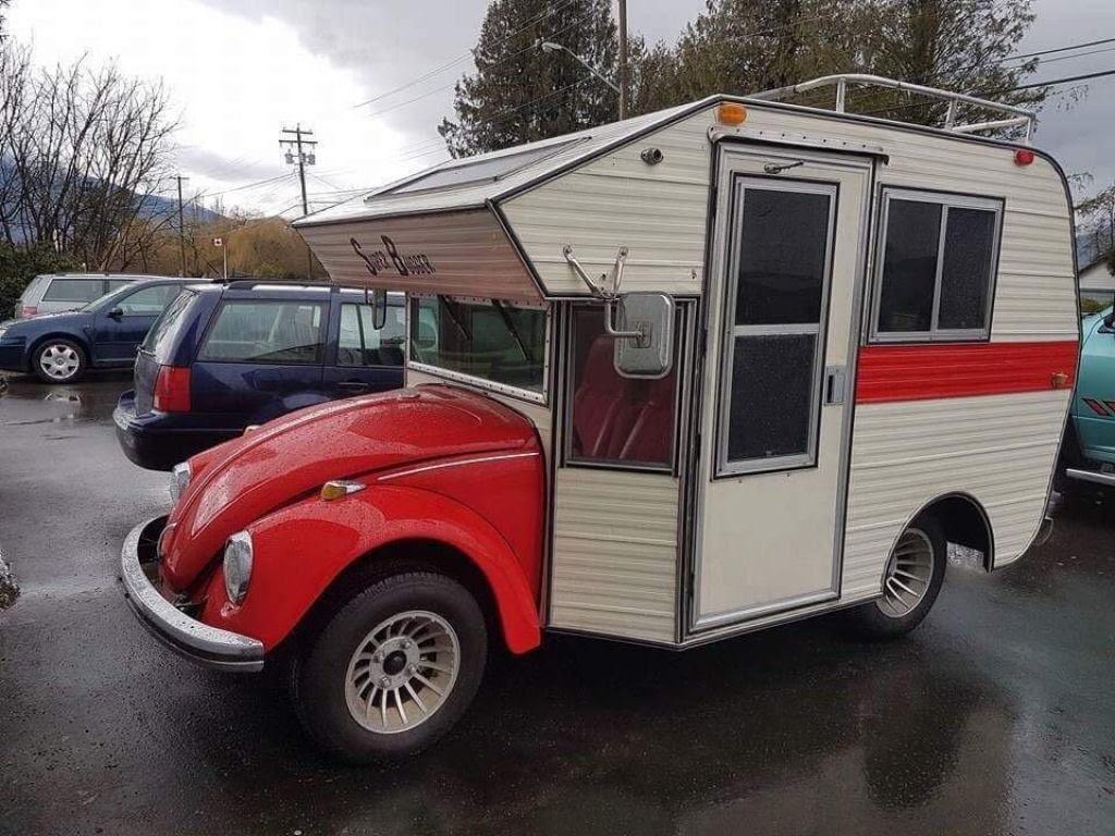 """Fuscas dos anos 1970 convertidos em trailers chamados """"fuscampistas"""" 01"""