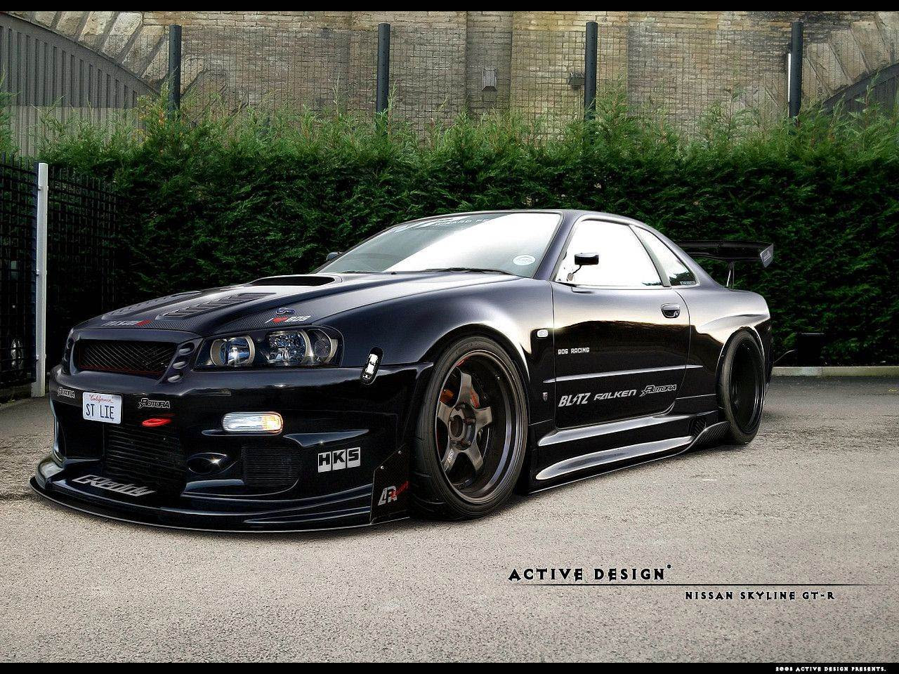 Nissan Skyline Gtr R34 Wallpapers Wallpaper Adorable Wallpapers