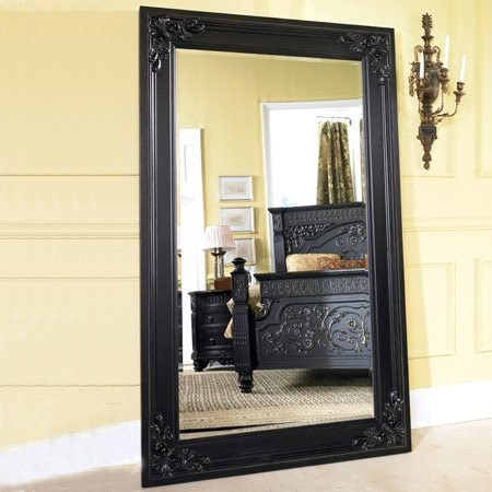 Discount Mirrors Britannia Rose Framed Floor Mirror Ashley Furniture