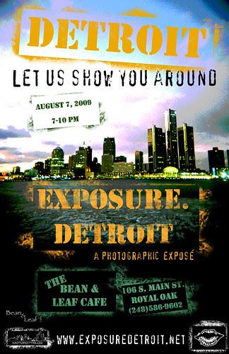 EXPOSURE.Detroit Photography Exhibit Opening ~ In 3 Weeks