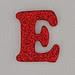 Christmas Sparkle letter E