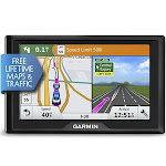 Garmin Drive 50 USA LMT GPS Navigator System with Lifetime Maps and Traffic, Driver Alerts, Direct Access, and Foursquare data