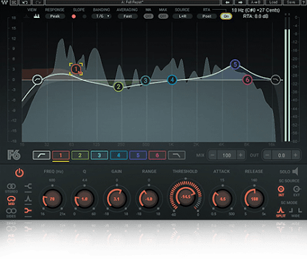 F6 Floating-Band Dynamic EQ | Waves