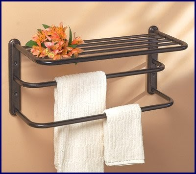 bathroom towel bars oil rubbed bronze hotel towel shelf