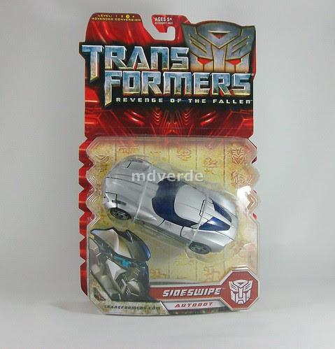 Transformers Sideswipe RotF Deluxe - caja