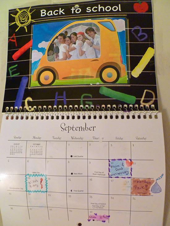 Calendar Craft - September