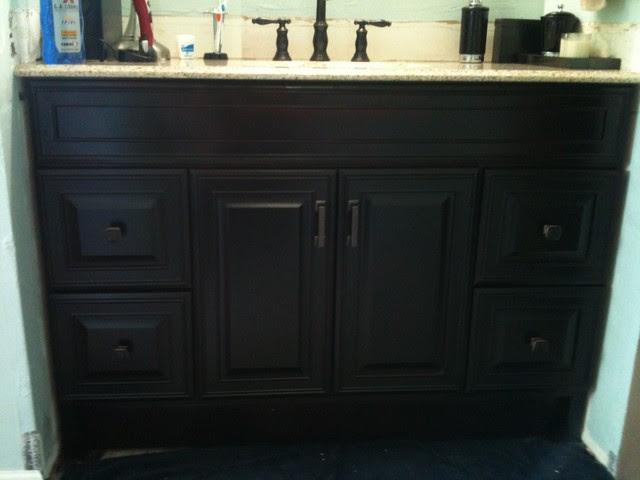 Bath Remodel - Oil Rubbed Bronze Look - Contemporary ...