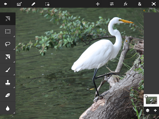 Review: Photoshop Touch brings hardcore image editing to iOS and Android