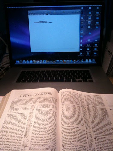 008/365:2010 The Blank (Sermon) Page