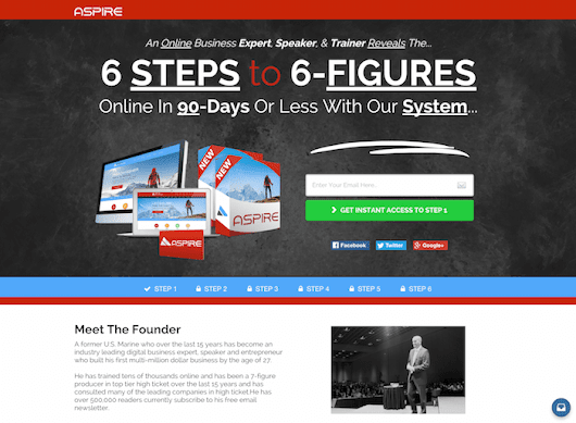 ASPIRE- 6-STEPS TO 6-FIGURES