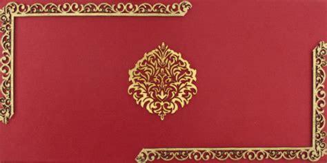 Buy Luxury Wedding Cards   LWC 103R Online   Madhurash Cards