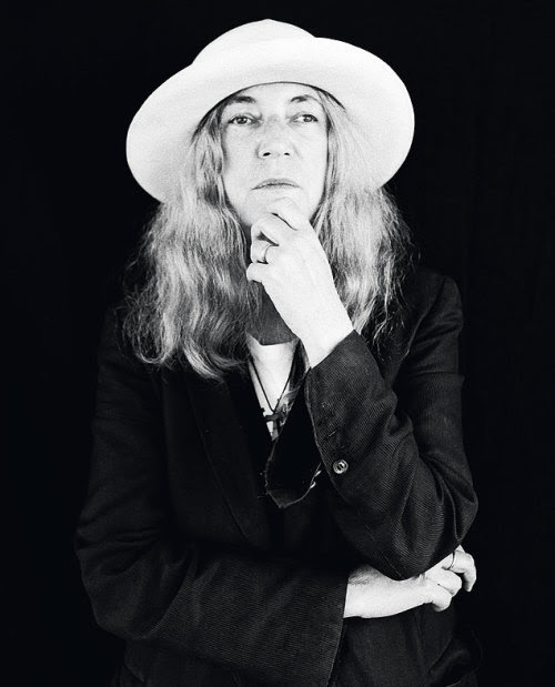 """Patti Smith Reveals Her Solitary Soul In The 'M Train' Fresh Air book critic Maureen Corrigan reviews Patti Smith's new novel, M Train: """" """"In Patti Smith's new memoir, the M Train is a Magical Mystery line that only she rides, her snaking Mental..."""