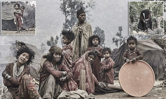 Inside the Nepalese tribe that migrates every time a member dies