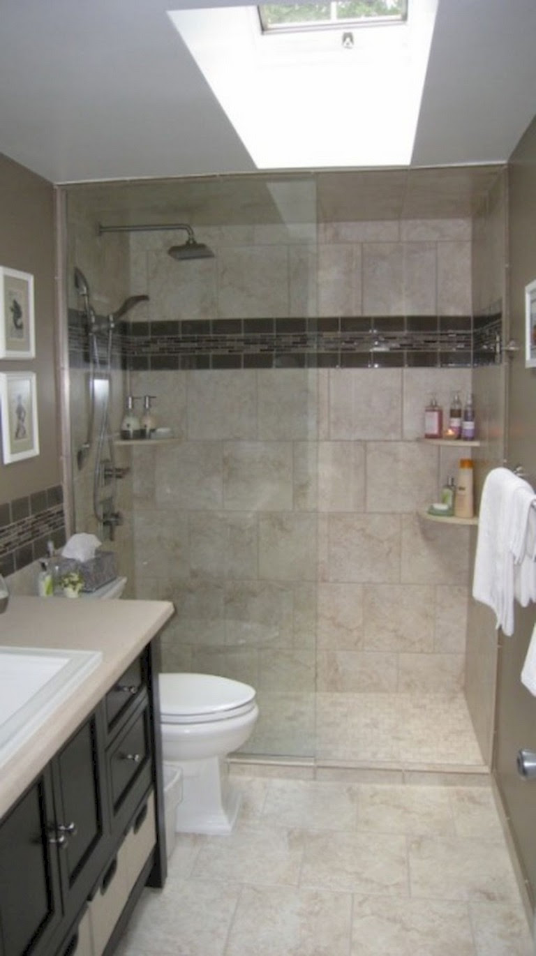 55 Beautiful Small Bathroom Ideas Remodel - Page 54 of 60