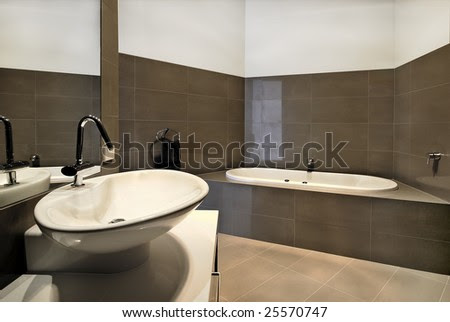 Bathroom Design on Modern Bathroom Design  Stock Photo 25570747   Shutterstock