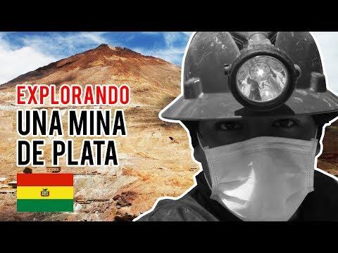 Busqueda Mineral Ep 2 - Exploramos una mina de plata artesanal - cerro rico de Potosí - Bolivia