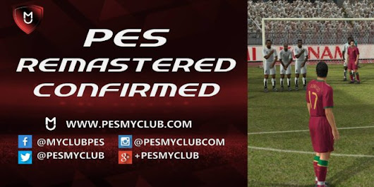 PES Remastered Confirmed Xbox One PS4